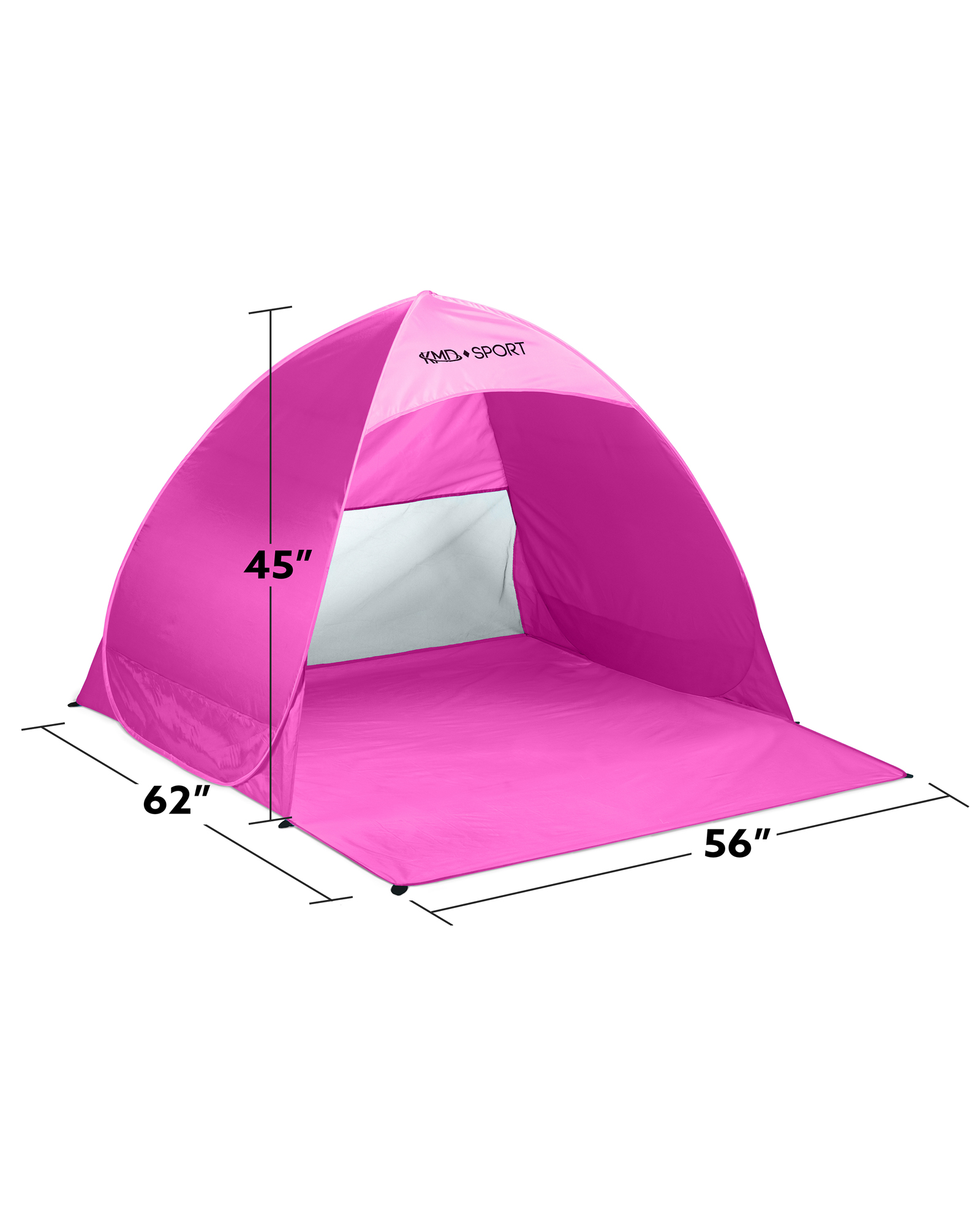 Beach Pop Up Tent u2013 Lightweight Portable Cabana for Privacy u0026 Shade u2013 Great for Kids Adults Family u2013 Quick Set Up Provides Shelter from the Sun ...  sc 1 st  KMD Direct : pop ip tent - memphite.com