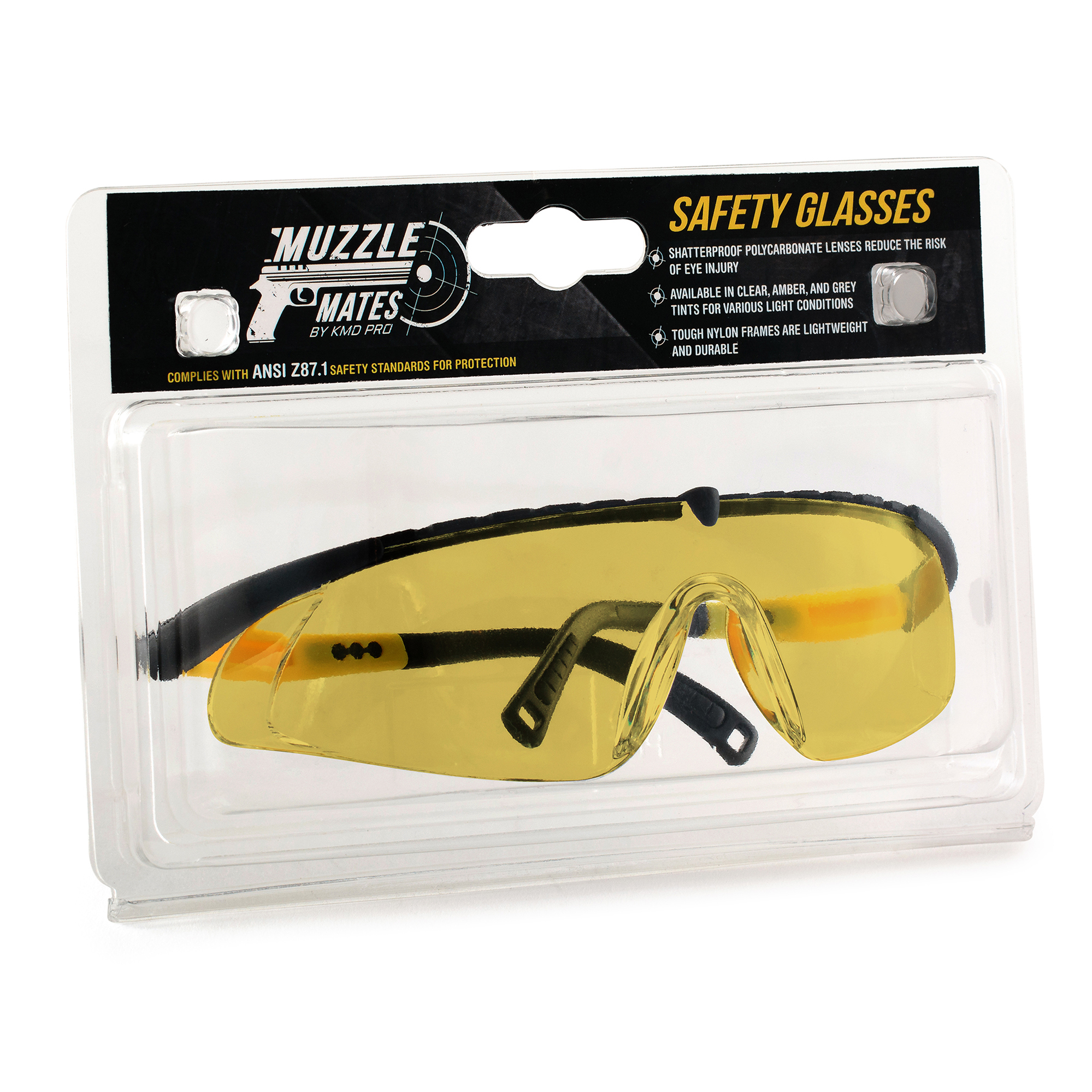 8723dc0a41 Muzzle Mates ANSI Approved Safety Glasses with Anti Fog  Scratch ...